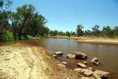 Rio de Finke, Austrália Foto de Stock