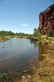 Rio de Finke, Austrália Imagem de Stock