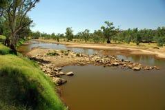 Rio de Finke, Austrália Fotografia de Stock Royalty Free