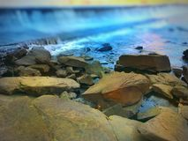 Rio de fluxo Imagens de Stock