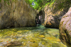 Rio de Frigido Foto de Stock
