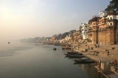 Rio de Ganga Imagens de Stock