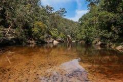Rio de Glenbrook imagens de stock