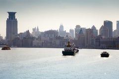 Rio de Hangpu, Shanghai Imagem de Stock