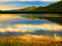 Rio de Hawkesbury Fotografia de Stock
