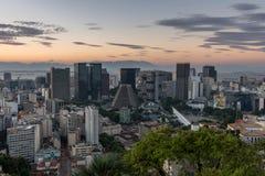Rio de Ianeiro Downtown Stockfotografie