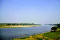 Rio de Jammuna em Agra Fotografia de Stock Royalty Free