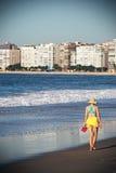 Rio de Janeiro. Day of sun on Copacabana beach in Rio de Janeiro, Brazil royalty free stock photo