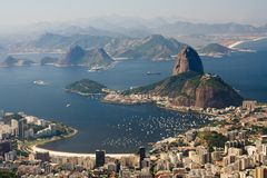 Rio de Janeiro. Sugar Loaf Mountain, in Rio de Janeiro, Brazil Stock Photography