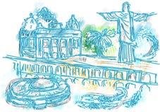 Rio de Janeiro illustration de vecteur