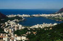 Rio de Janeiro. Rodrigo de Freitas lake stock photos