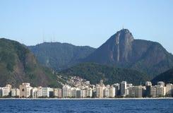 Rio de Janeiro. The city of Rio de Janeiro, Brazil, seen from the ocean Stock Photo