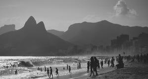 Rio de Janeiro! Arkivfoton