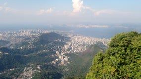 Rio de Janeiro aerial. A aerial view of Rio de Janerio in Brazil Royalty Free Stock Photos