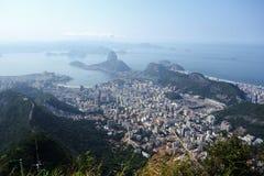 Rio de Janeiro. Aerial view of Rio de Janeiro Stock Photography