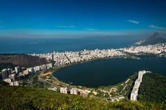 Rio de janeiro Aerial View bonito imagens de stock
