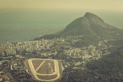 Rio de Janeiro aerial view Royalty Free Stock Image