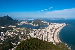 Rio de Janeiro Aerial View Stock Photography