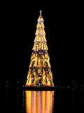 Rio de Janeiro? albero di Natale di s Fotografia Stock Libera da Diritti