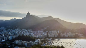 Rio de Janeiro. As seen from sugarloaf mountain Royalty Free Stock Images