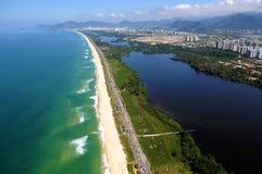 Reserva Beach. Rio de Janeiro, August 12, 2014 Stock Photography