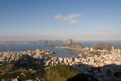 Rio de Janeiro, baia di Botafogo immagine stock libera da diritti