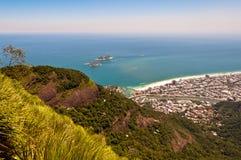 Rio de Janeiro, Barra da Tijuca. Aerial view of Barra da Tijuca in Rio de Janeiro, Brazil stock photography