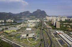 Rio de Janeiro, Barra da Tijuca aerial view Stock Image
