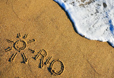Rio de Janeiro beach Stock Images