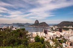 Rio de Janeiro, Botafogo, and Sugarloaf Mountain Stock Photos
