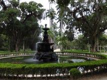Rio de Janeiro Botanical Garden Fountain stock photography