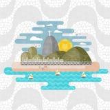Rio de Janeiro, Brésil illustration de vecteur