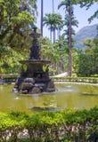 Rio de Janeiro, Brésil, Muse Fountain dans le jardin botanique photo libre de droits
