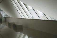 Rio de Janeiro, Brasil 5 de agosto de 2018 Interior do museu do amanhã no quadrado de Maua Projetado pelo arquiteto Santiago Cala imagens de stock