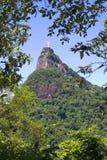 Rio de janeiro, Brasil, estátua de Cristo na montagem Corcovado fotos de stock royalty free