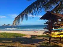 Rio de Janeiro Brasilien, strand Fotografering för Bildbyråer