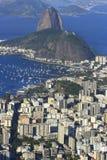 Rio de Janeiro, Brazil. View of famous mountain over the city Stock Photography