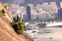 Rio de Janeiro - Brazil. View of city from Sugar Loaf mountain Royalty Free Stock Images