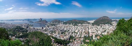 Rio de Janeiro, Brazil: overview of the city royalty free stock photography