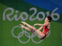 Diving in the Olympic Games 2016. Rio de Janeiro-Brazil , diving in the Olympic Games 2016 Royalty Free Stock Image