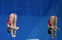 Diving in the Olympic Games 2016. Rio de Janeiro-Brazil , diving in the Olympic Games 2016 Stock Photos
