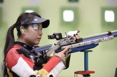 Sport shooting. Rio de Janeiro-Brazil, Event sport shooting test for the Olympic Games stock photos