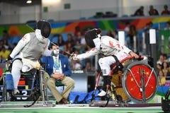 Paralympics Games 2016 Basketball stock image