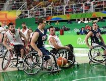 Paralympics Games 2016 Basketball stock photography