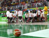 Paralympics Games 2016 Basketball royalty free stock images