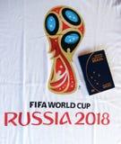 Passport to russia. Rio de Janeiro - Brazil  passport to Russia 2018 Stock Image