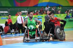 Paralympic games - Rugby stock photography