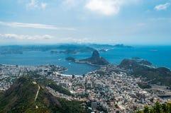 Rio de Janeiro, Brazil. View on Botafogo Bay, Rio De Janeiro royalty free stock image