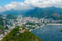 Rio De Janeiro, Brazylia Obraz Royalty Free