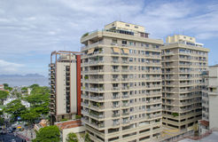 Rio de Janeiro buildings Royalty Free Stock Image